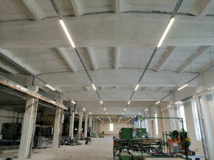 Ražošanas ēkas apgaismojuma izstrāde